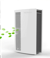famous brand in China 2014 Mfresh H6 hotel air clean equipment 4 steps prefilter+ESP+HEPA+active carbon