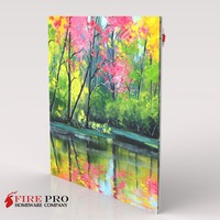 Printed Canvas Infrared Electric Panel Heater