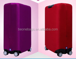 customized luggage cover neoprene luggage cover
