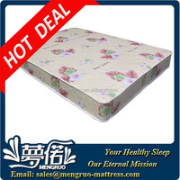 memory foam compressed rolled packing foam mattress