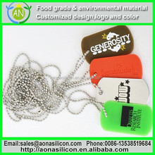 Silicone Dog Tag Silencer|Pet Pendants|Dog Name Tags|silicone dog tag for pets with custom embossed logo