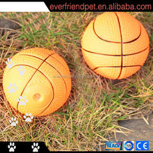 2014 guangzhou promotional squeaky vinyl basketball dog toy