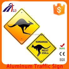 """""""Animal"""" Australia aluminum Traffic Sign"""