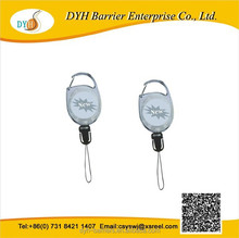 Rotate Retractable Carabiner Reels for ID Badge Holders, Key Cards and ID Cards
