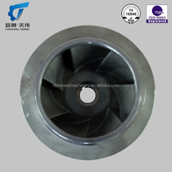 high pressure impeller lost wax steel impeller casting