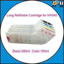 oversize and normal-size refillable cartridge for HP officejet pro 8000 / 8500 / 8500a (cartridge 940) with ARC chip