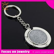 watch metal key chain/clock keyholder/watch key ring