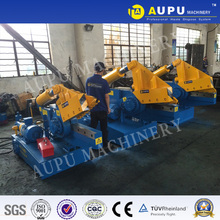 AUPU Q08-100 shear cutting machine trash tube aluminum Used