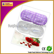 2015 new product Fu qin brand lavender / rose flavour HIGH QUALITY 40C 40-50 minutes disposable bulk steam hetaing eye patch