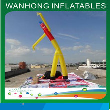 2015 new style inflatable clown air dancer on sale, inflatable air dancer for advertising