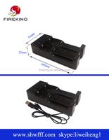 fireking xxc-988 flashlight wedding favors charger mirco usb 5pin 18650 charger
