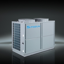 trinity air to water heat pump with heat recovery