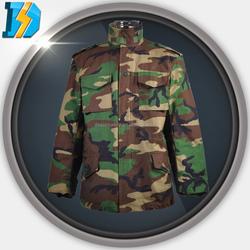 DBU/ACU With Many Pockets Usa Military Nyco M-65 Field Alpha Jacket