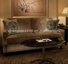 Two seats hotel sofa sets