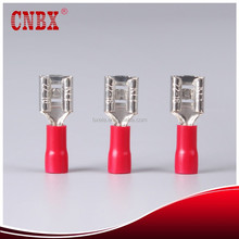A.W.G22-16 SGS CE ROHS Disconnects wire Insulated cord end female terminal Splice vinyl cable couple associate Attach connectors