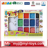 Meiyijia Direct selling hama plastic funny perler beads toy diy building puzzle BT-0057A
