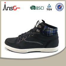 2015 Spring fashion men casual shoes high cut men shoes