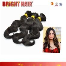 2015 new products accept paypal fashion women hair hair extension 7a bulk hair