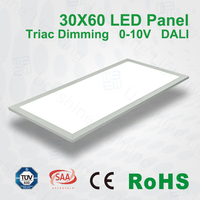 CE ROHS SAA TUV UL certified 36W 45W dimmable led panel 620x620 nuova germany lampadine