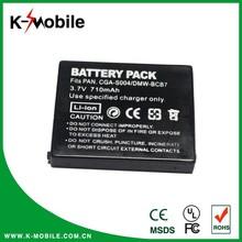 camera battery for panasonic battery DWW-BCB7 CGA-S004