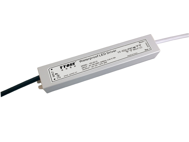 ip67 waterproof led driver 15w 20w 12v 24V