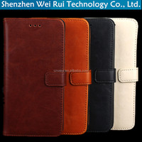 factory leather phone case for apple 5C wallet flip stand tpu protective sleeve for iphone 5c cases