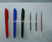 magic erasable pen, erasable gel pen ink can disappear,gel pen with eraser