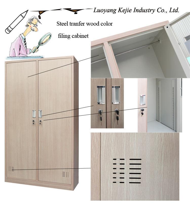 Artesanato Locatelli Guapore ~ Com chave personalizado Metal 2 porta armário de roupas, Multiuso durável armários guarda roupa