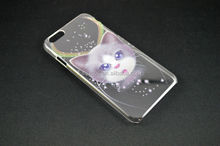 new arrival transparent cartoon case for iphone 5/6