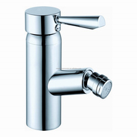 Modern style chrome finish brass bidet faucet