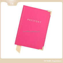 Factory design and supply leather passport cover leather travel sets