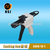 dental dispensing guns for silicones in 50ml 1:1