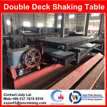 Factory price cooper table concentrator,copper separation shaking table