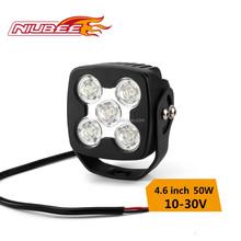50 watt 4270LM LED work light,IP67 led motorcycle driving lights