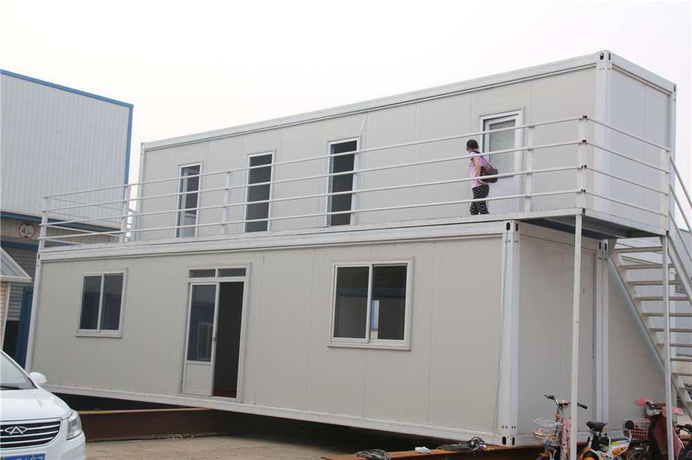 Economic villa modular flat pack container home buy flat - Mobil home economicos ...