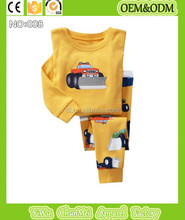 2015 top fashion boys cars styling pajamas kids funny pyjamas children forklift pijamas for 2-7y many design available oem odm