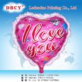 Amor em forma de coração balão para decoração de casamento Favor do casamento