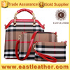 E1307 online shopping hong kong hot sale canvas bag 3pcs in 1