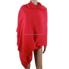 2015 fashion red 100% cashmere scarf winter wraps and shawls