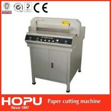 HOPU hydraulic punch cutter paper rotary paper sheet cutter