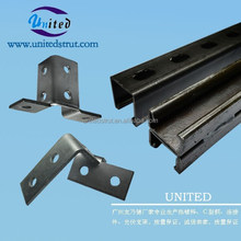 Guangzhou High Quality Hot Dipped Galvanized C Shape Steel Channel Made in China