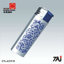 TAJ Brand Fashion Electronic Lighter with Chinese culture design