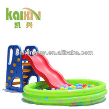 Children Play Happy Slide And Ball Pool Set From Kaixing