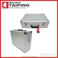 Silver Hard Power Tool Case Metal Tool Boxes Aluminum Case Tool Set