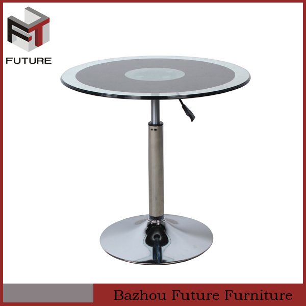 Adjustable Height Round Coffee Table: Small Round Adjustable Height Coffee Table