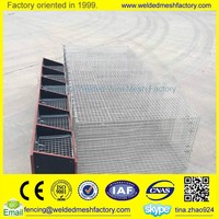 Welded wire mesh animal cage for mink /rabbit/bird