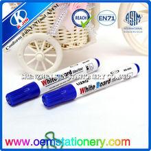 Borrado en seco junta/rotuladores pizarra blanca/recargables marcadorindustriales