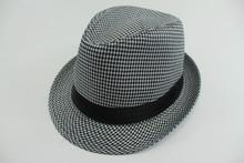 Gentlemen High Quality Cap Felt Available Fedora Hats Custom Made In China