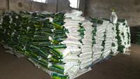 Organic granular fertilizer promote grass growth