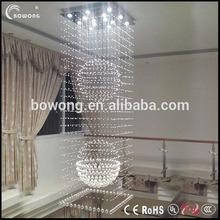 calidad superior de lámparas modernas para el comedor de araña de cristal